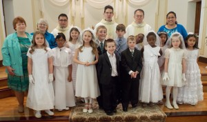 PSR 1st communion 2015